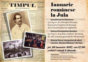 Afis - Ianuarie romanesc la Jula