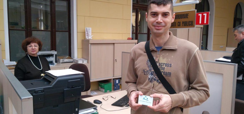 Castigatorul voucherului pentru acces gratuit la Aquapark Nympahea si-a ridicat premiul