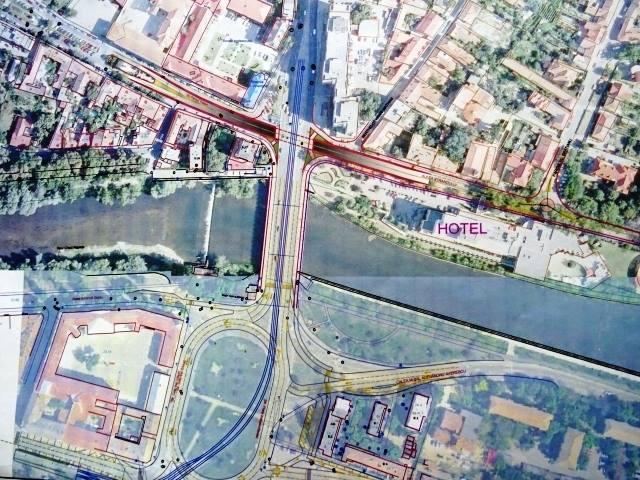 Pasaj subteran Aleea Strandului Parcul Traian Oradea