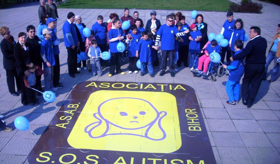 Asociația S.O.S. Autism Bihor sărbătorește în luna martie zece ani de la înființare.