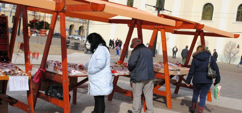 Primaria Oradea organizeaza licitatie pentru locuri destinate vanzarii de martisoare