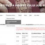 Peste 500 de programari online, de pe siteul Prefecturii, au fost anulate. Vezi motivul