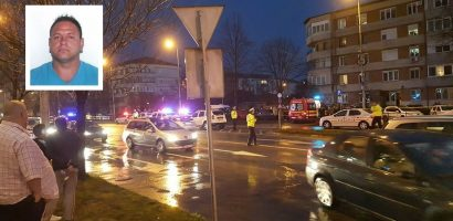 Comunicat I.P.J. Bihor: Suspectul omorului din 15 martie, din Oradea, a fost prins, dupa care a decedat la spital