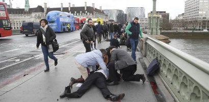 UPDATE! Atac terorist la Londra. 5 morți, printre care atacatorul și un polițist, și circa 40 de răniți (nou bilanț al poliției). Printre raniti se afla si 2 romani. (FOTO/VIDEO)