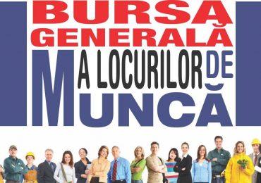 Bursa Generală a Locurilor de Muncă va avea loc în 12 aprilie 2019, la Oradea