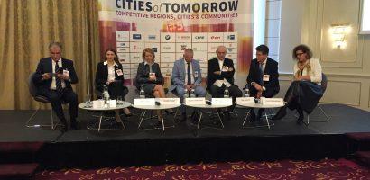 """Cinci proiecte ale administratei locale, prezentate la """"Cities of Tomorrow"""", unor investitori straini"""