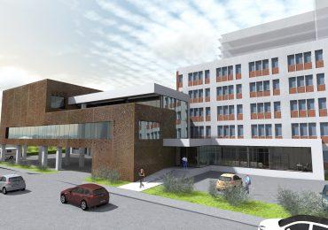 Extinderea Corpului B la UPU a Spitalului Judetean Oradea se afla in faza de licitatie. Vezi cum va arata noua cladire (FOTO)