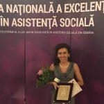 Oradeanca Ioana Ostahie, premiata la Gala Nationala a Excelentei in Asistenta Sociala