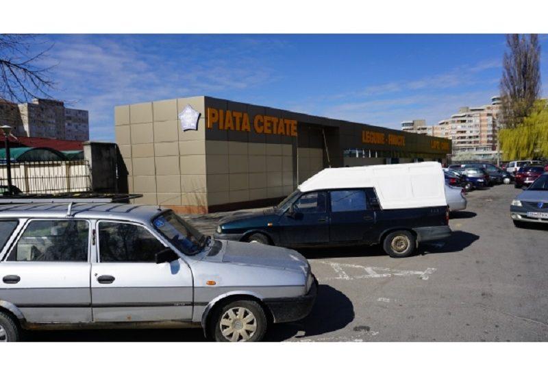 S-au finalizat lucrarile de modernizare la Piata Cetate. Vezi cum arata (FOTO)