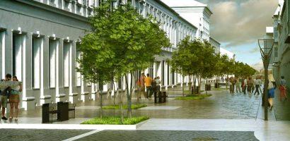 Primăria Oradea așteaptă ofertanți pentru amenajarea străzii V. Alecsandri. Cum va arata aceasta (FOTO)