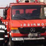 O fetita de 3 ani a ramas blocata intr-un autovehicul, in Lugasu de Sus, fiind salvata de pompierii alesdeni