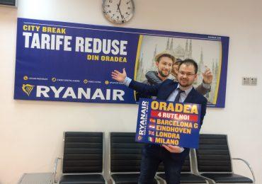 Reactia RyanAir, dupa suspendarea cursei Oradea-Londra