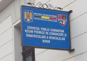 Modificări privind înregistrarea şi radierea autoturismelor, la Primaria Oradea