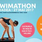 Start la Swimathon Oradea 2017, cel mai mare eveniment de fundraising prin înot din țară