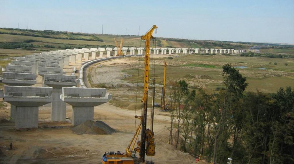 Viaduct Suplacu de Barcau Autostrada Transilvania