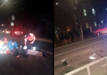 Accident mortal in Alesd! Un barbat de 68 de ani, din localitate, a fost izbit in plin pe o trecere de pietoni. FOTO