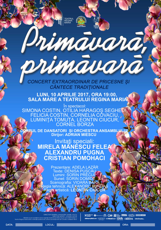 afis Primavara Primavara