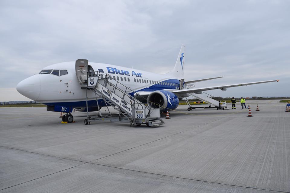 Blue Air Oradea-Torino