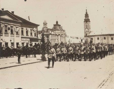 Eliberarea-Oradiei-1919-Armata-romana