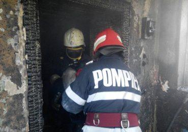 Incendiu violent la o gospodarie din Lazuri de Beius