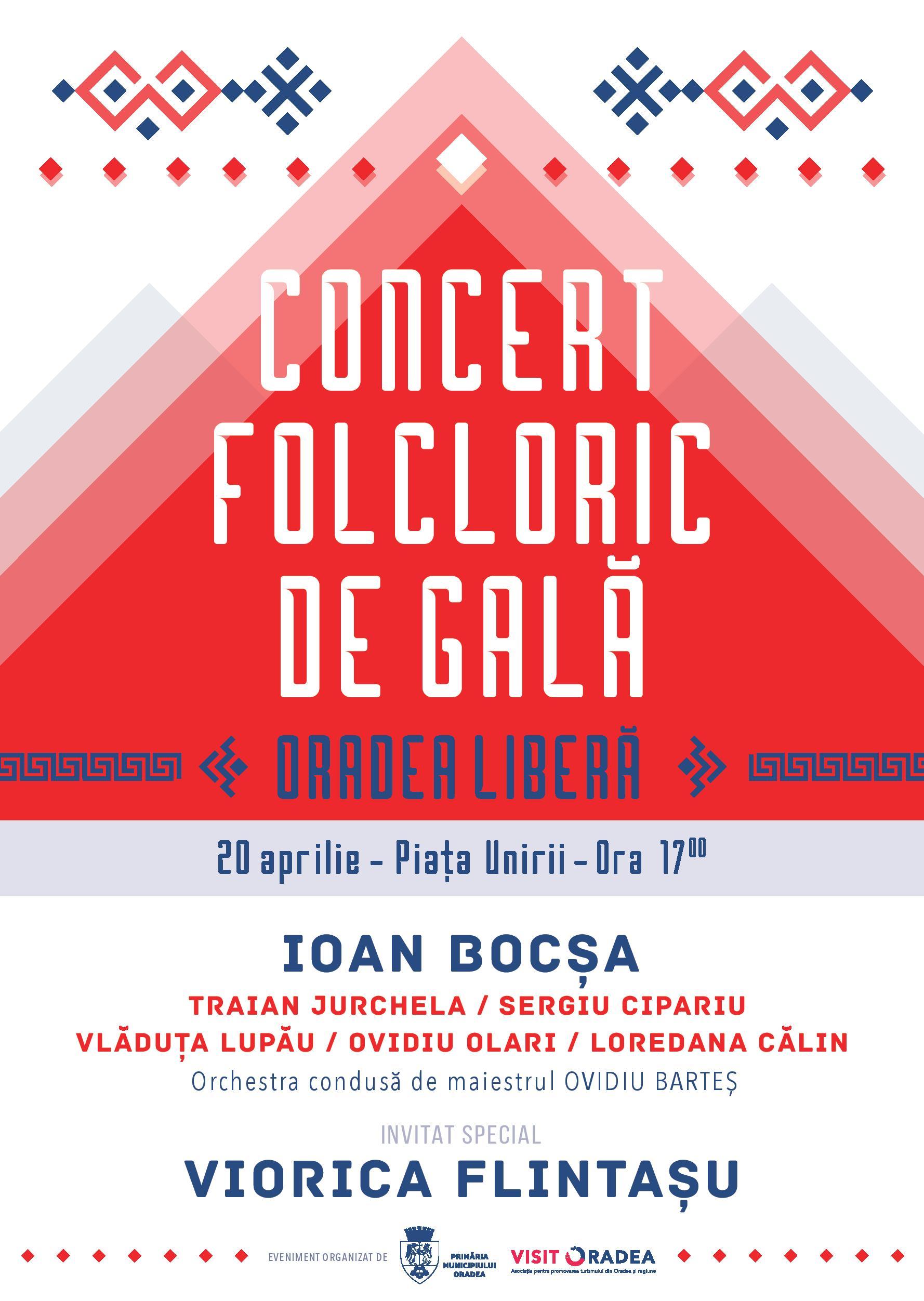Oradea Libera concert Piata Unirii 20 aprilie