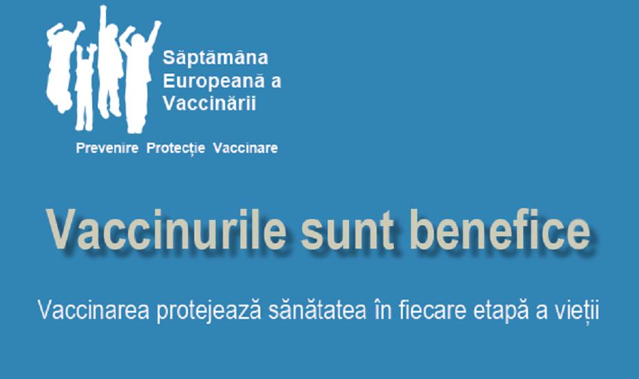 """DSP Bihor, deruleaza in perioada 24-30 aprilie, campania """"Saptamana Europeana a Vaccinarii"""""""