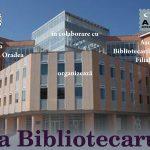 """Universitatea Oradea organizeaza """"Ziua bibliotecarului"""", miercuri, 12 aprilie 2017"""