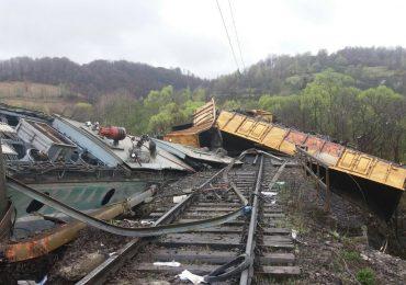 accident tren marfa valea jiului
