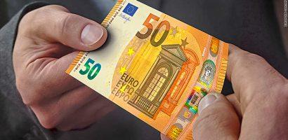 Banca Centrală Europeană introduce in circulaţie, începând cu 4 aprilie 2017, noua bancnotă de 50 de euro. (VIDEO)