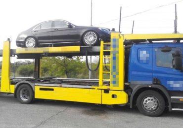Un Mercedes, de 65.000 de euro, căutat de autoritățile lituaniene, descoperit la P.T.F. Borş