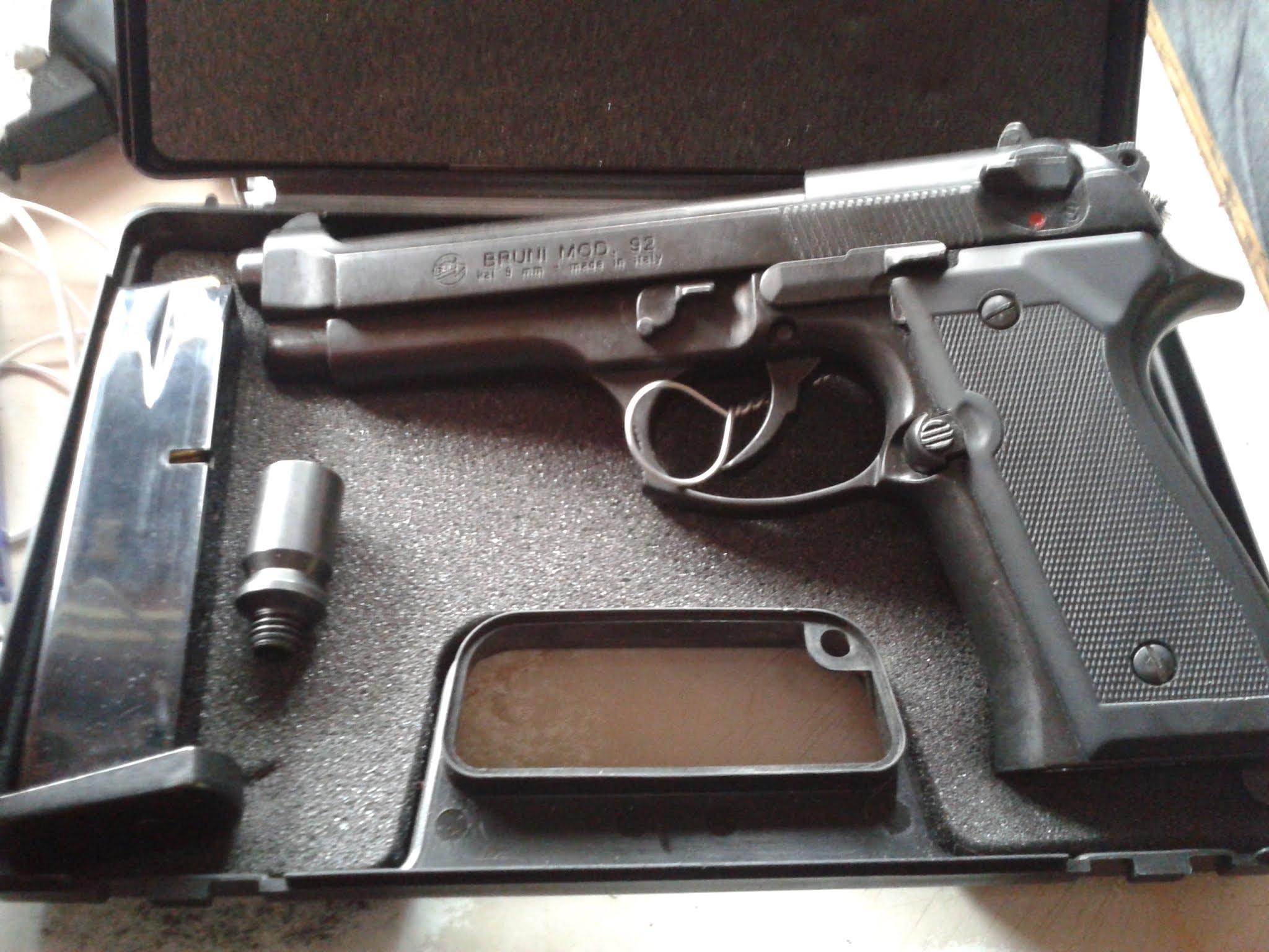 pistol BRUNI, model 92