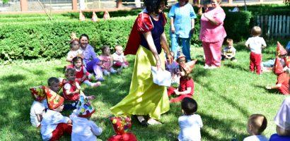 Copilasii din cresele oradene au sarbatorit in avans Ziua Copilului