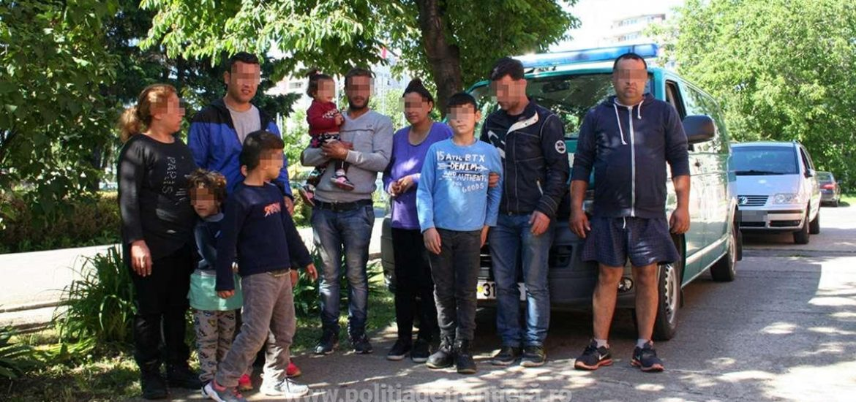 Unsprezece cetățeni din Siria și Irak, opriți la frontiera cu Ungaria, in apropiere de Sacuieni