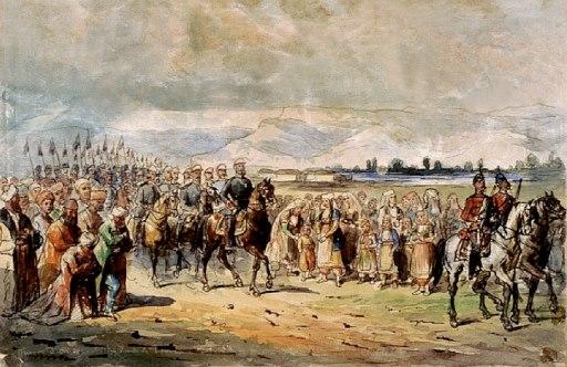 Carol armata romana 1877