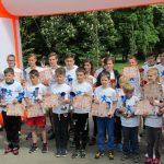 """250 de copii, din judet, au participat, ieri, la Crosul """"Pro Europa"""" 2017"""