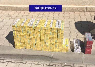 O nou razie a politistilor oradeni in pietele din Oradea, impotriva vanzarii ilegale de tigari