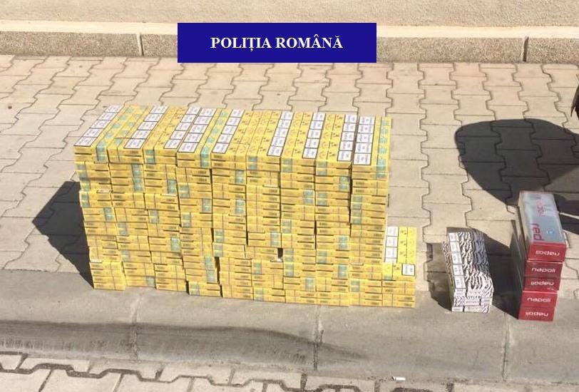 Tigari de contrabanda confiscate de politisti in pietele din Oradea