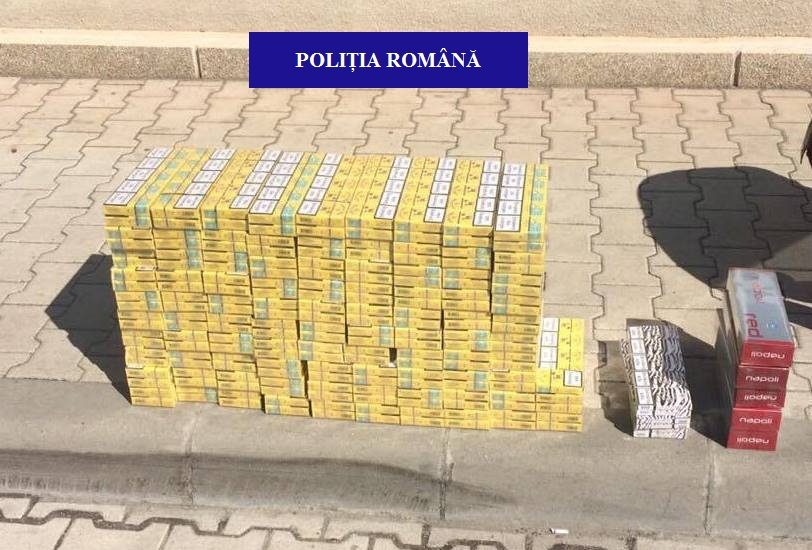 Oradean prins langa Lotus, in timp ce incerca sa vanda 420 de pachete de tigari nemarcate legal