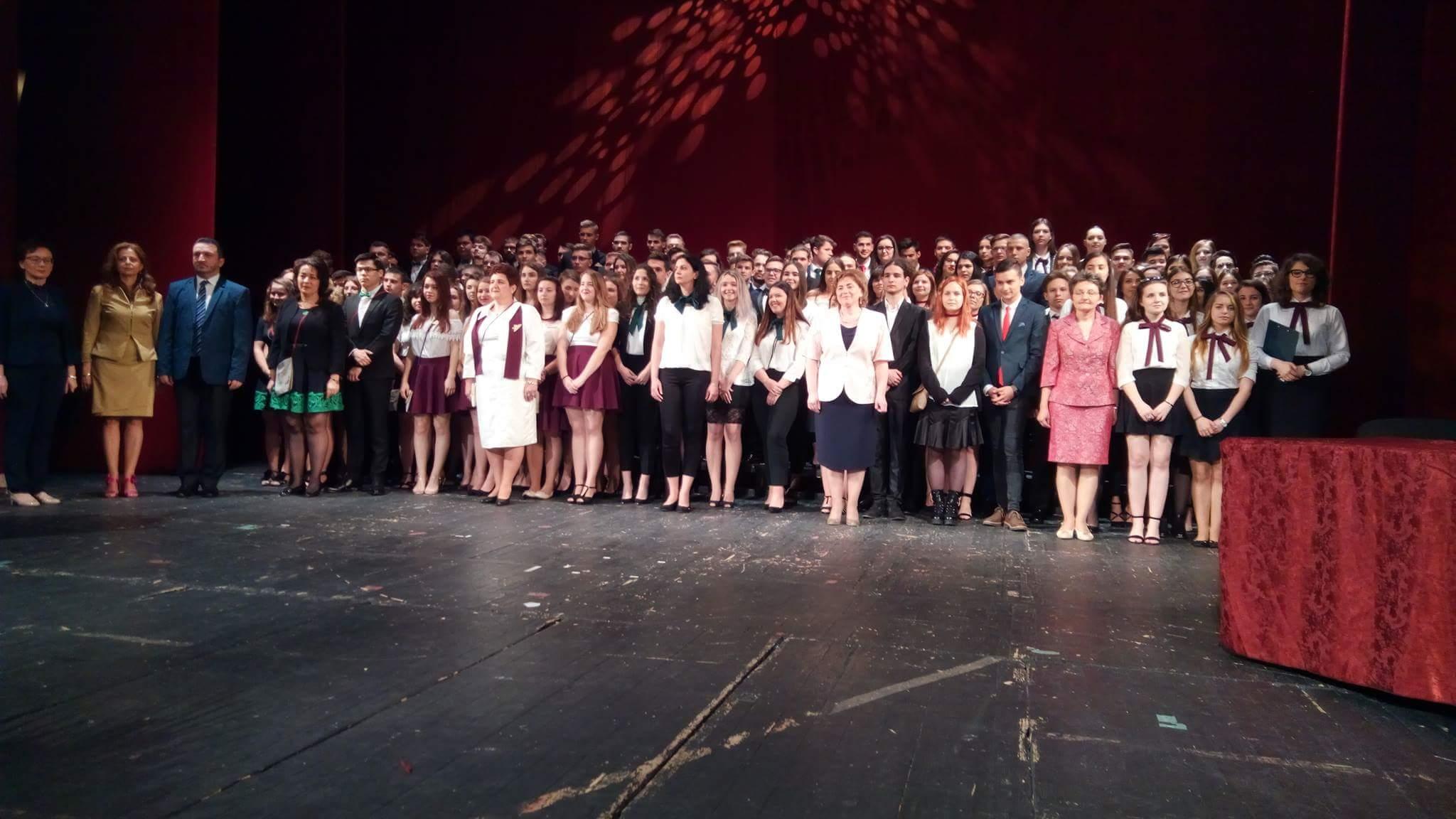 Festivitate absolvire Eminescu 2017 Oradea