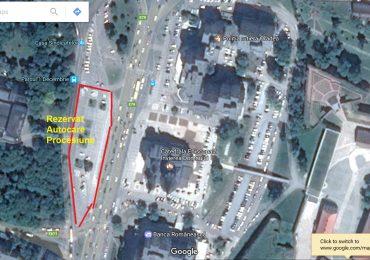 Parcarea din Centrul Civic va fi restrictionata, pe 14 mai, cu ocazia Jubileului Sfantul Ladislau