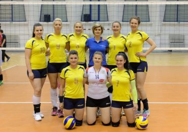 Echipa de volei feminin a Universitatii din Oradea este vice-campioana nationala (FOTO)
