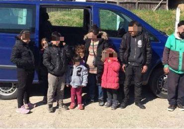 9 irakieni prinsi in apropiere de Valea lui Mihai, incercand sa treaca fraudulos frontiera