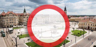 Se inchide circulatia in Piata Unirii, in perioada 16-21 mai 2018