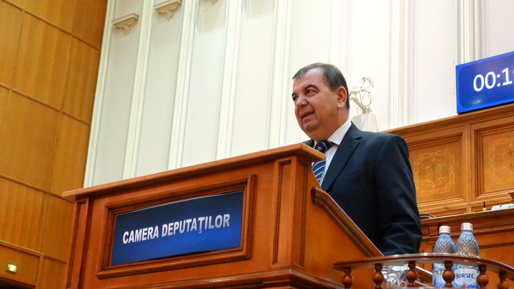 Deputatul PNL Bihor Gavrila Ghilea