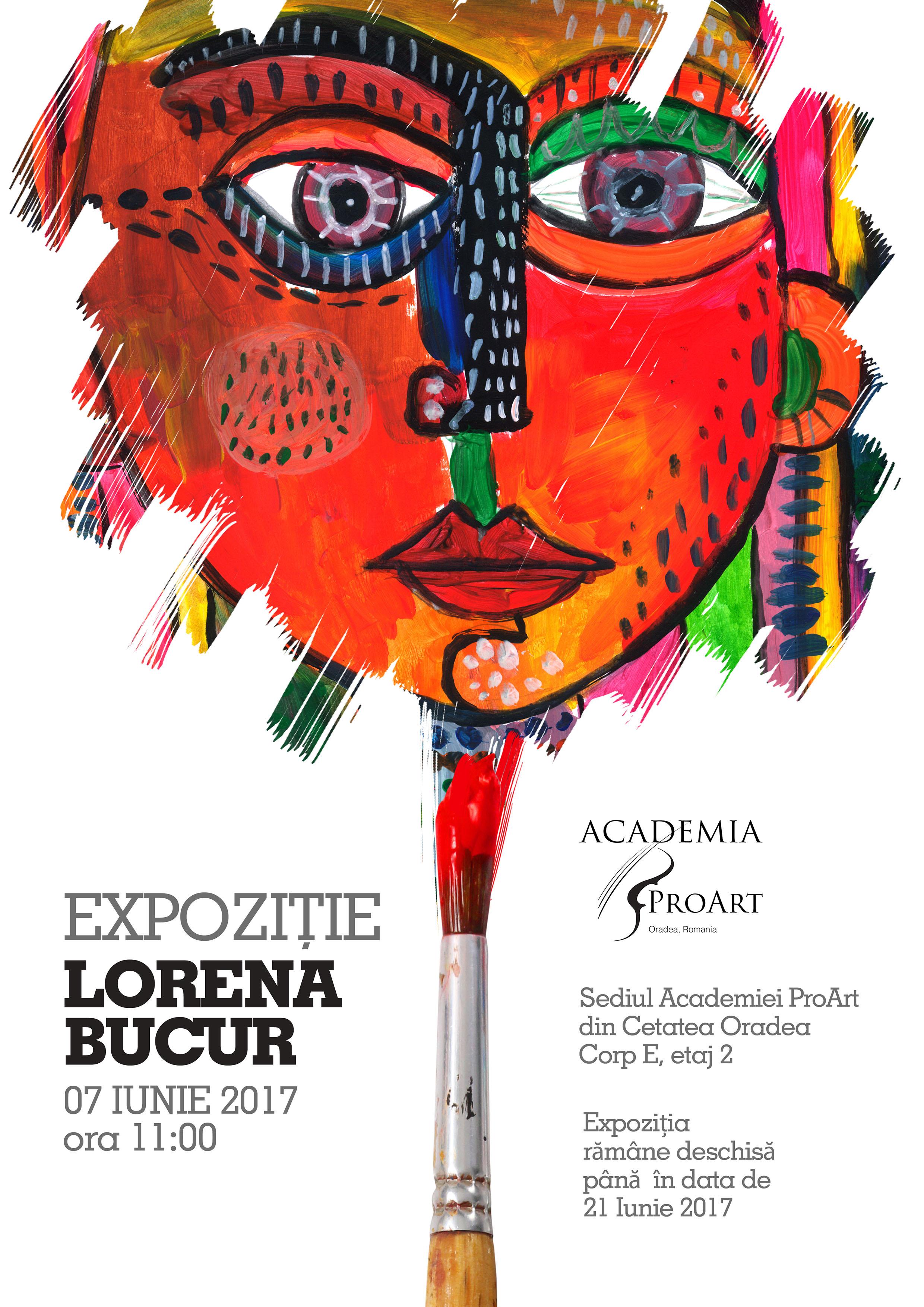 Expozitie pictura Lorena Bucur Cetatea Oradea