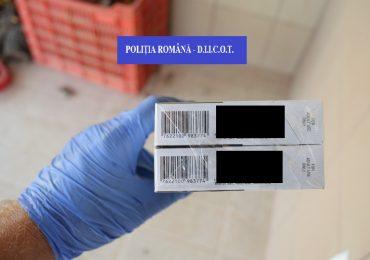 Razie in pietele din Oradea, politistii vizau comerciantii de tigari netimbrate