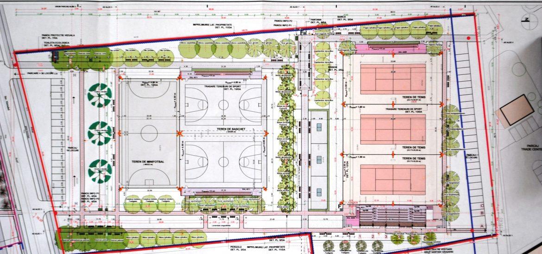 In Oradea va fi construit un parc sportiv de 13.000 mp. Vezi unde va fi amplasat si ce dotari va avea