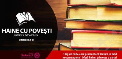 """Clubul Rotaract Oradea lanseaza si in 2017, proiectul caritabil """"Jos textila, întoarce fila!"""""""