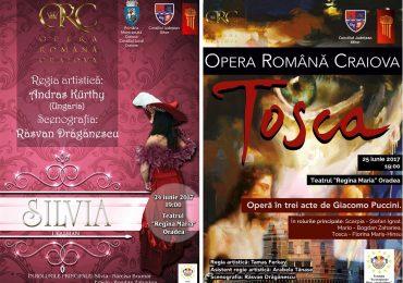 """Oradenii sunt așteptați la două spectacole de gală pe scena Teatrului """"Regina Maria"""" din Oradea"""