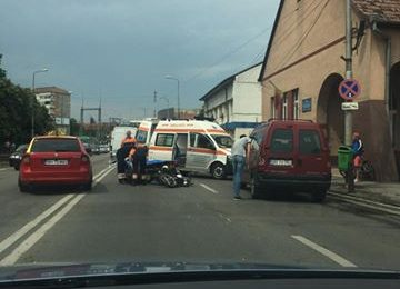 accident motocicleta Oradea Cantemir